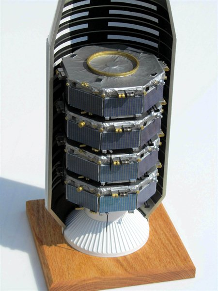 MMS Payload Spacecraft Model