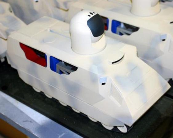 Mobile Laser Ground Weapon Model
