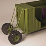 Mobile Radar Shelter Model