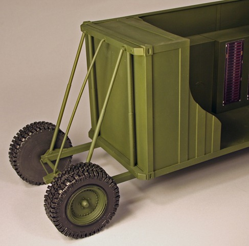 Mobile Radar Shelter Model