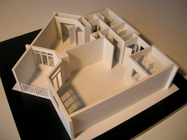 Architectural Model Interiors