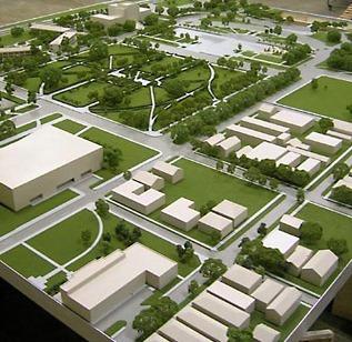 Baton Rouge Architectural Model