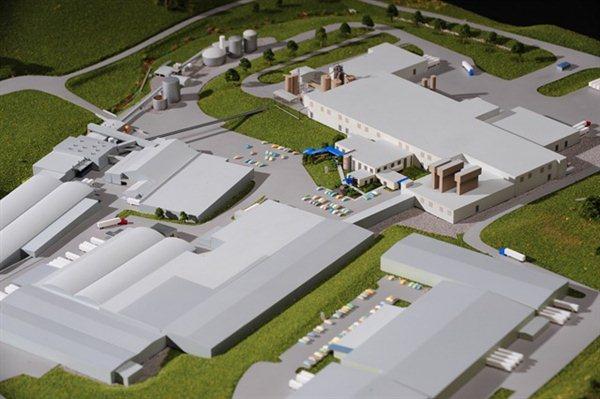 Bush Factory Architectural Model