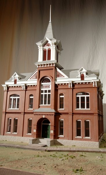 Court House Architectural Model