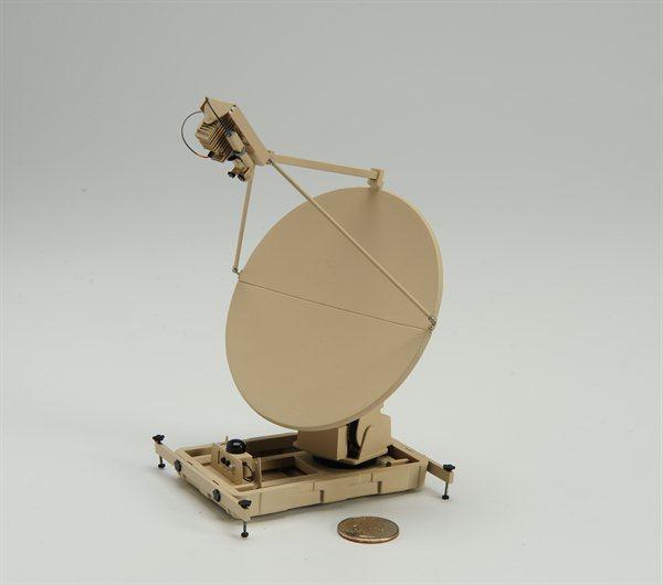 Desktop Satellite Dish Model