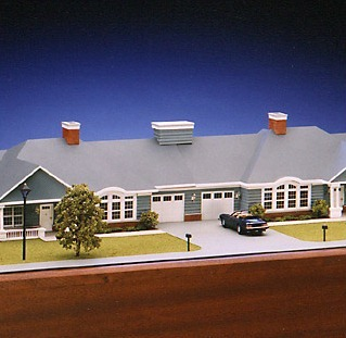 Architectural Model - House
