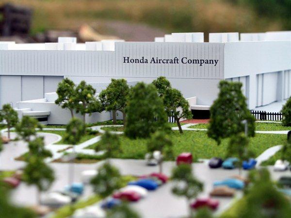 Honda Aircraft Architectural Model