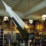 Nike Hercules Anti Aircraft Missile Model