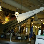 Nike Hercules Anti Aircraft Missile Model