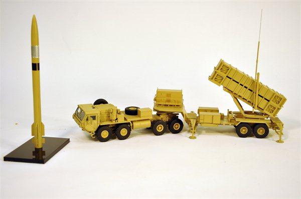 Patriot Missile Launcher Model