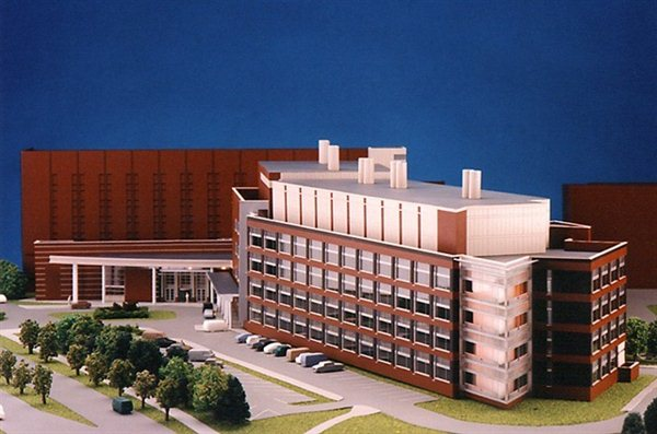 Research Center Architectural Model