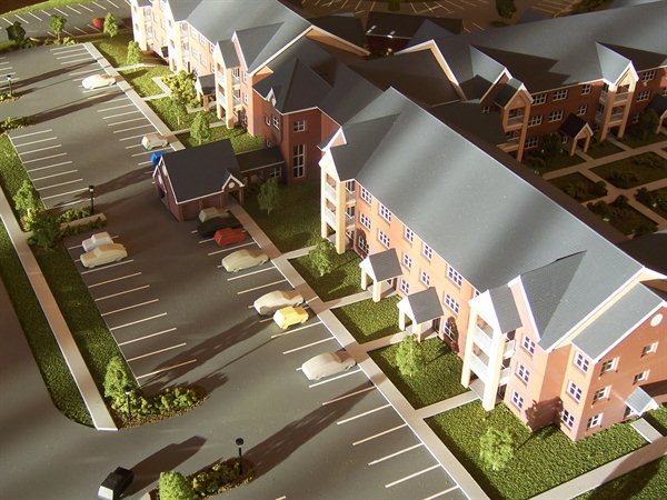 Housing Development Architectural Model