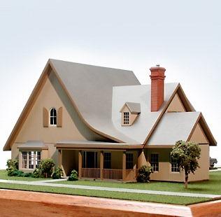 Retirement Cottage Architectural Model