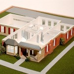 Retirement Cottage Architectural Model