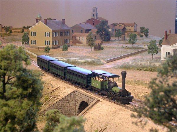 Seneca Falls Diorama Museum Model
