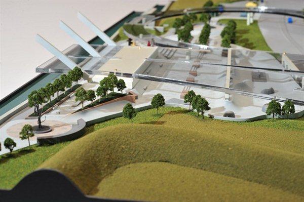 Skate Park Architectural Model