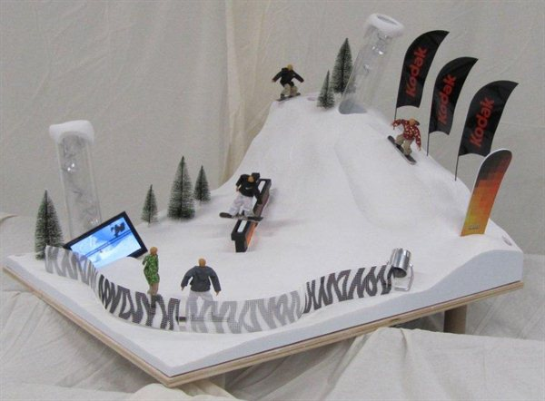 Ski Slope Model