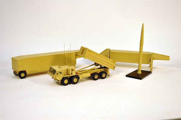 THAAD Missile Launcher Model