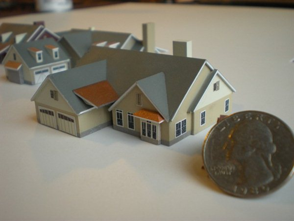 Tiny house architectural model kiwimill portfolio for Small house models