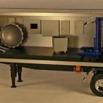 Tractor Trailer Cutaway Model
