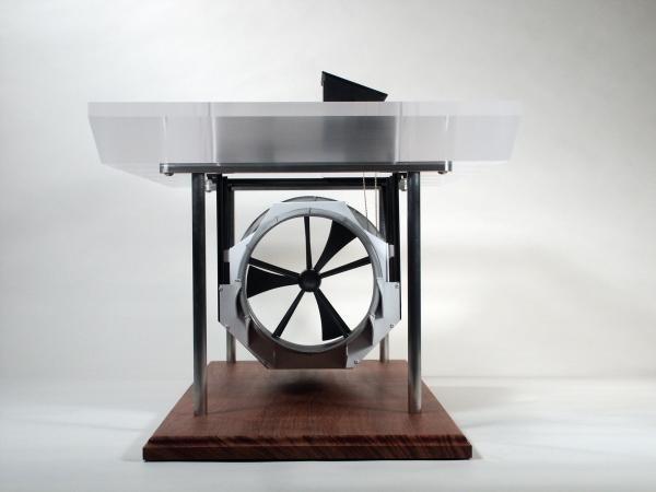 Barge Turbine Model