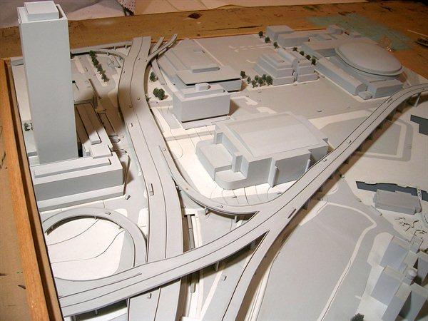 White Model - Architectural