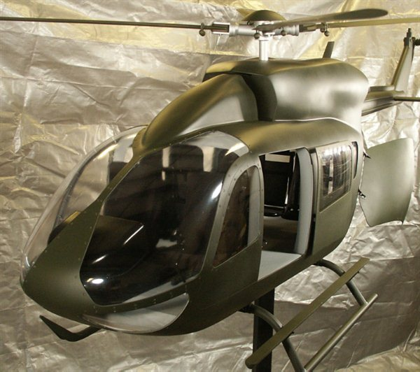 LUH Helicopter Model