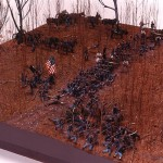 Civil War Diorama Museum Model