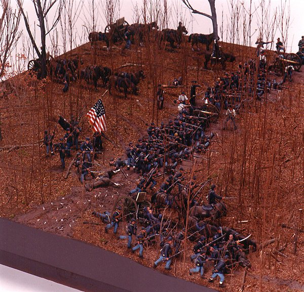 Civil War Diorama