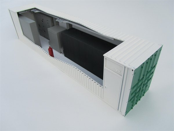 Cooling Container Model