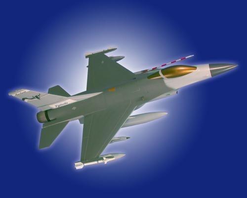 F-16 Airplane Model