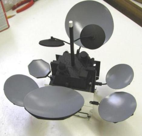 MEASAT-3 Satellite Model