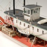 Paddle Wheel Boat Model