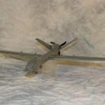 Predator Airplane Model