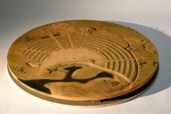 Prehistoric Museum Model
