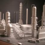 Oil Refinery Factory Model