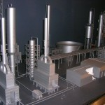 Oil Refinery Factory Model