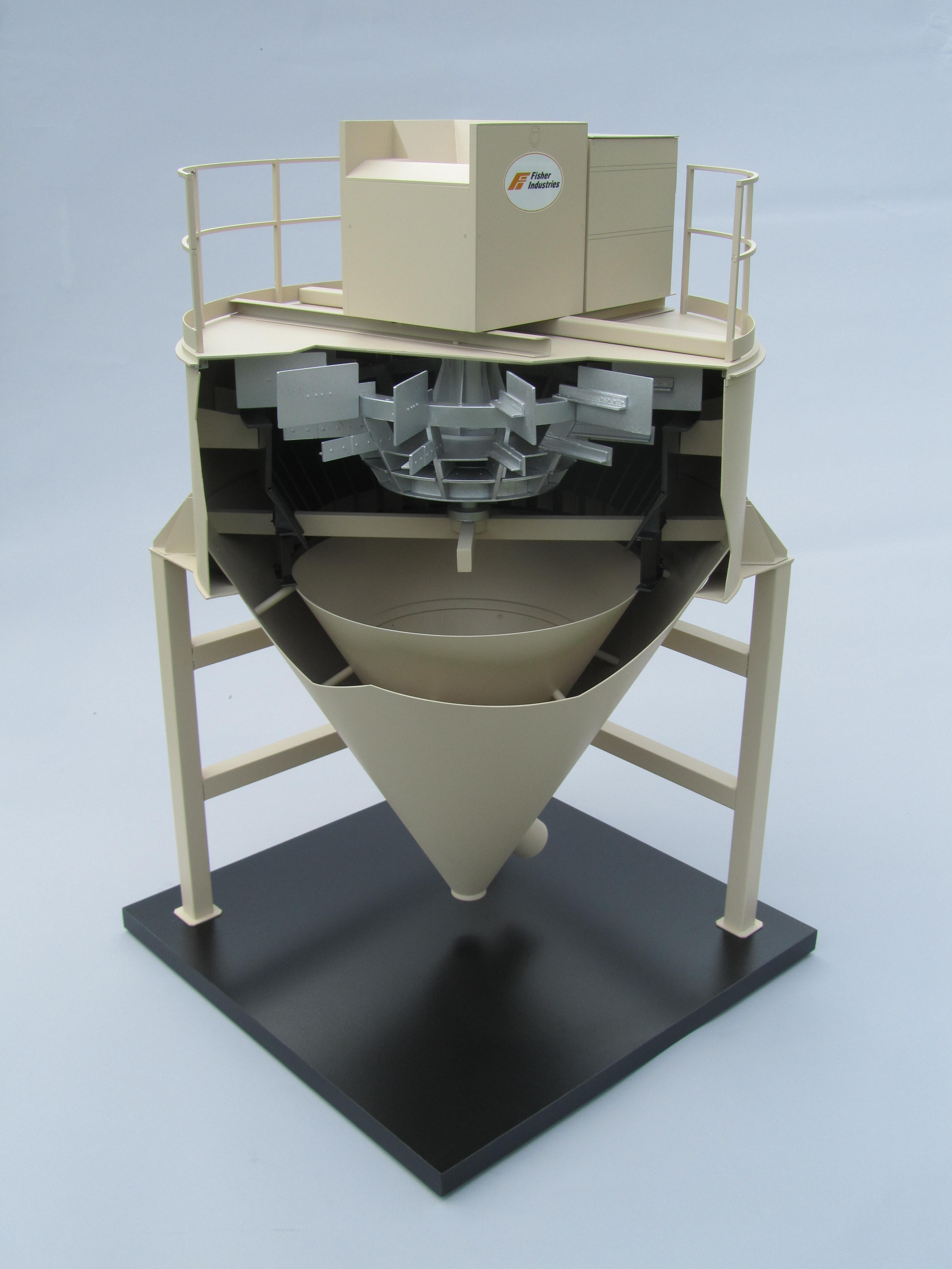 Working Model of an Air Separator