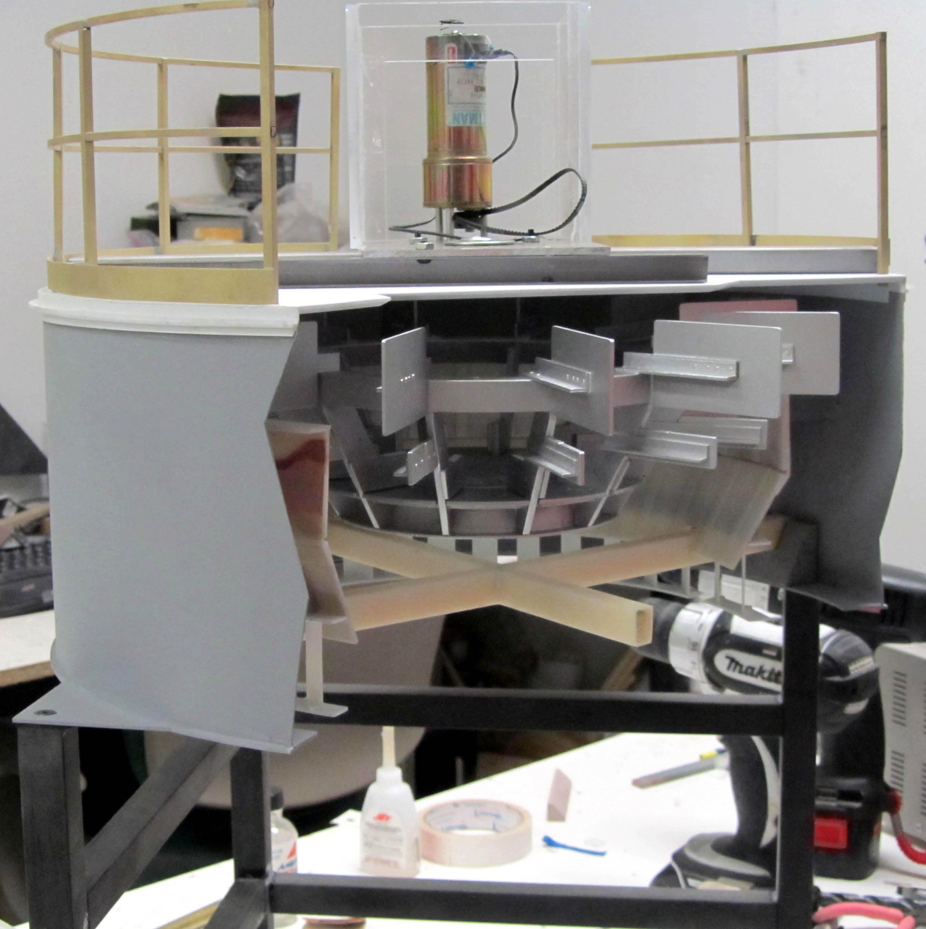 Working Model of Air Separator