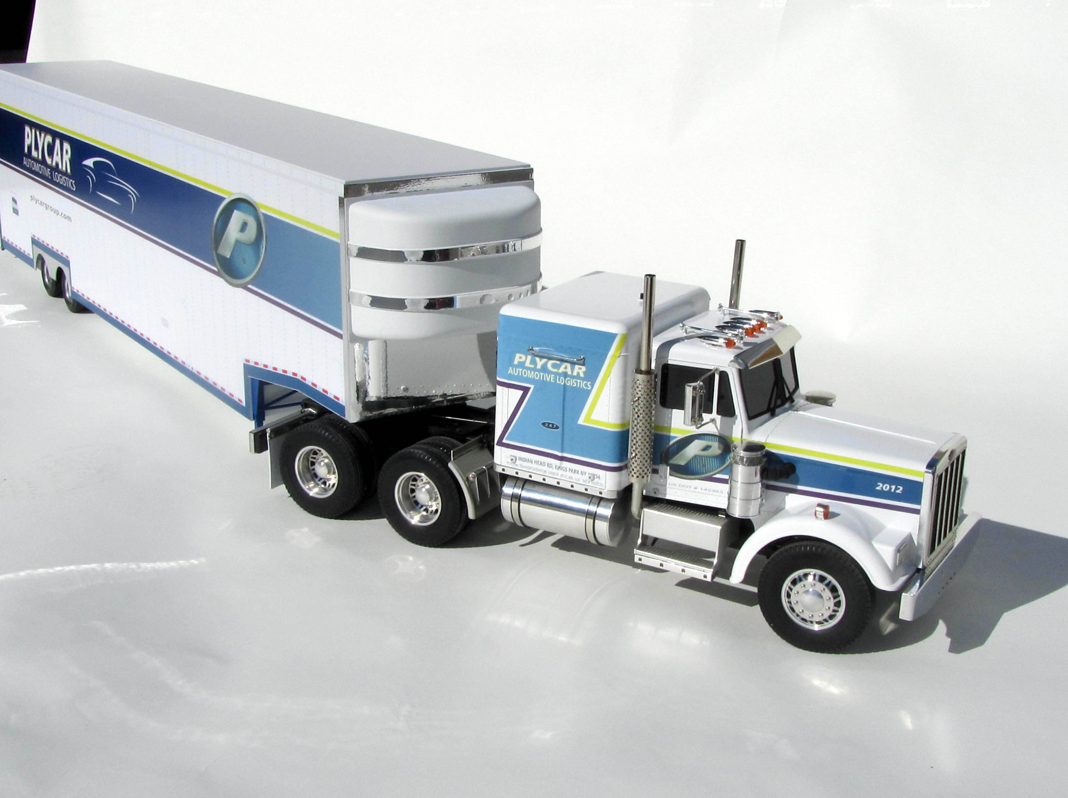 Remote Controlled Semi Truck Model Kiwimill Portfolio