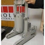 holtec nuclear storage scale model