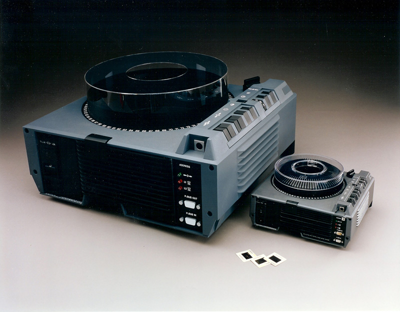 Slide Projector Display Model