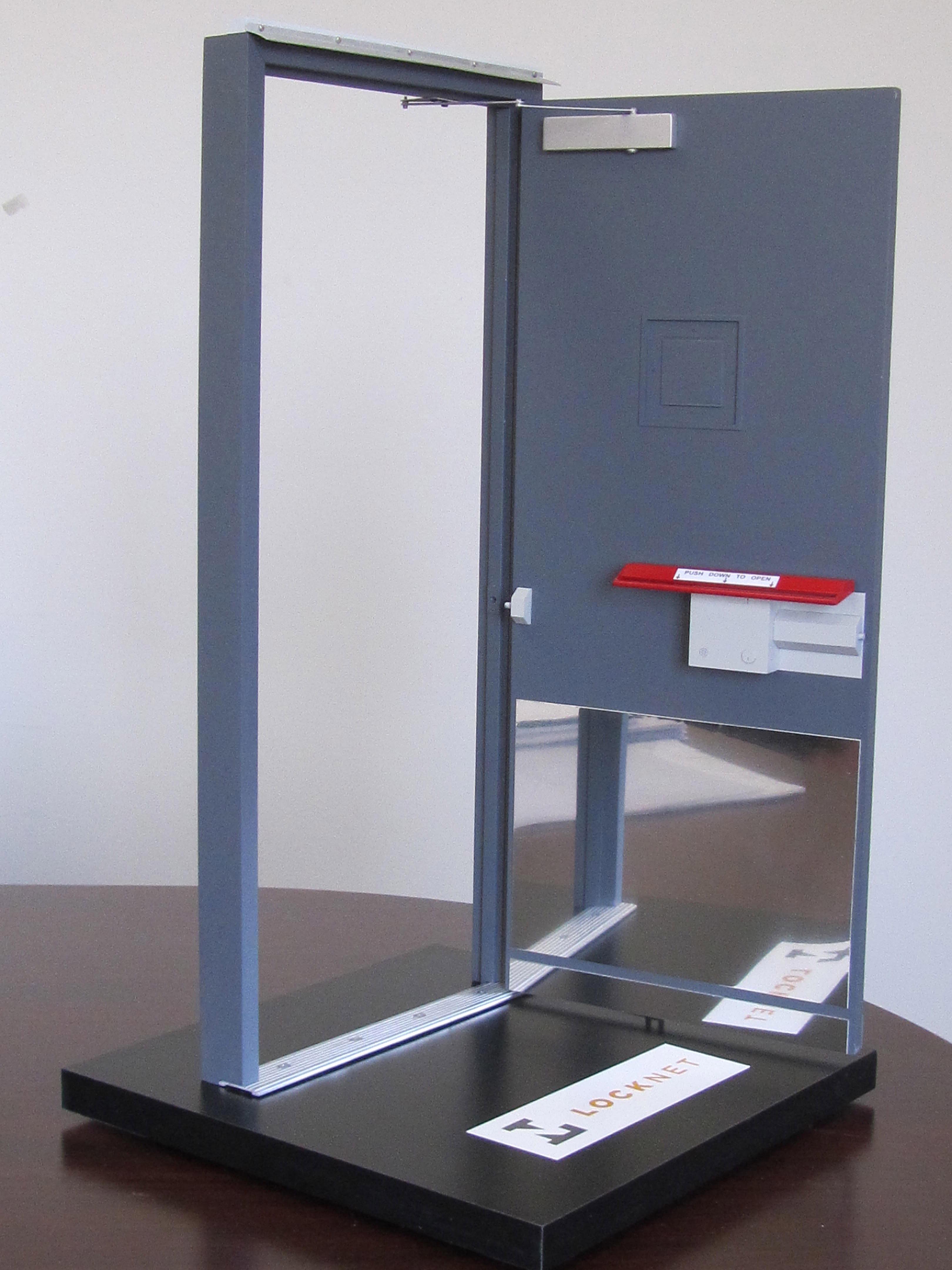 Working door model