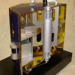Satellite Model Cutaway