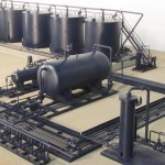 Industrial Tank Battery Model