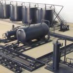Industrial Tank Battery Model