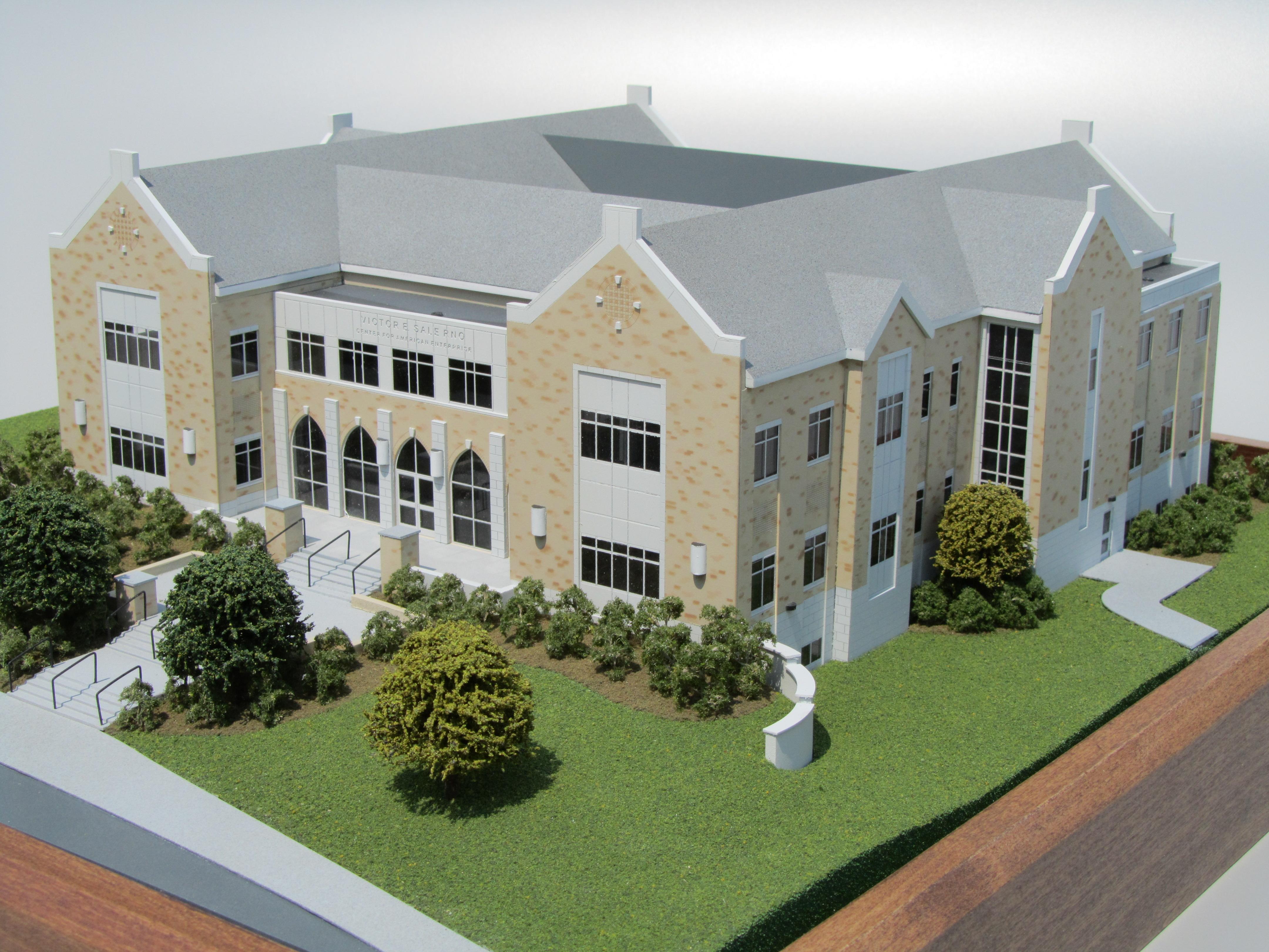 architectural model of college building kiwimill portfolio