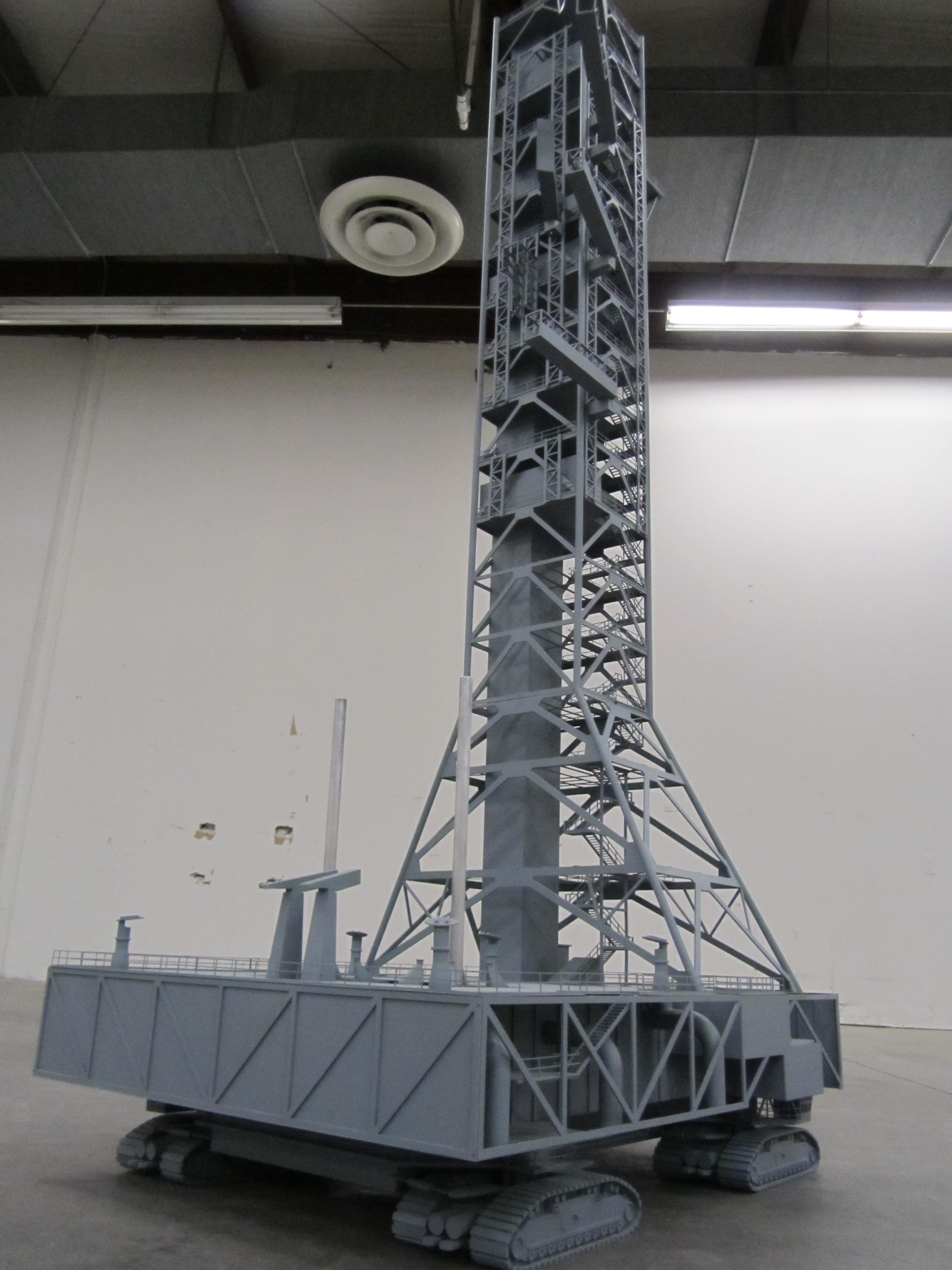 rocket launch pad model - KiwiMill