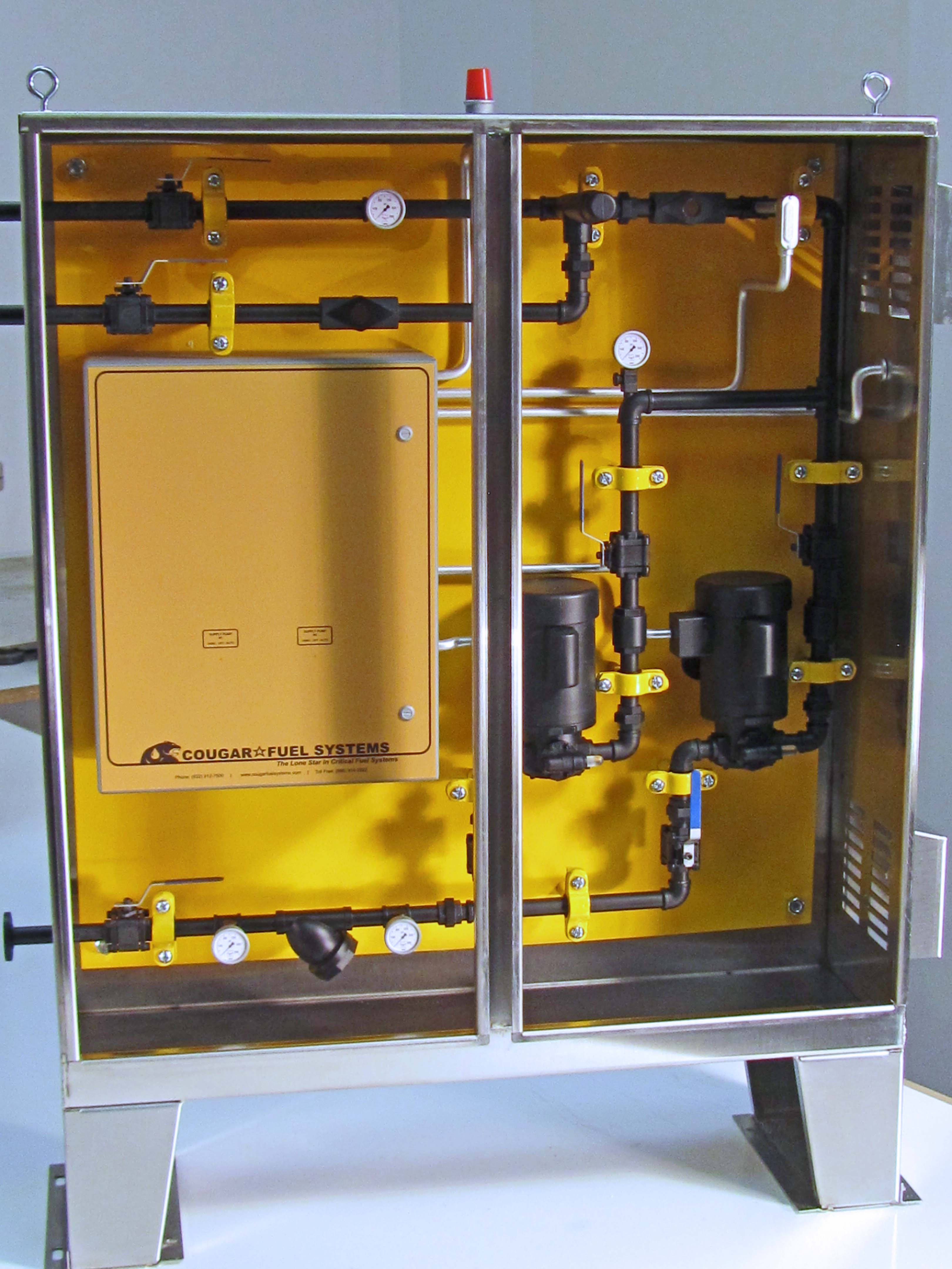 Fuel Monitoring Cabinet