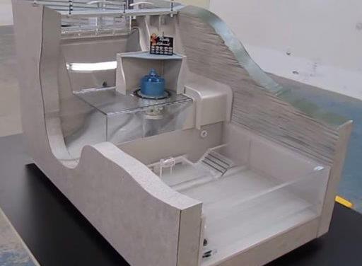 hydroelectric dam model